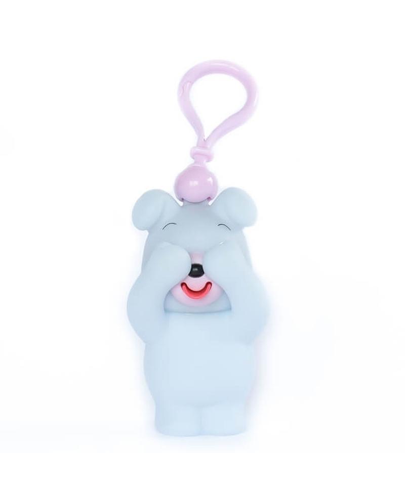 """Interaktyvus žaisliukas-pakabukas """"Jabb-A-Boo"""" Melsvas šuniukas"""