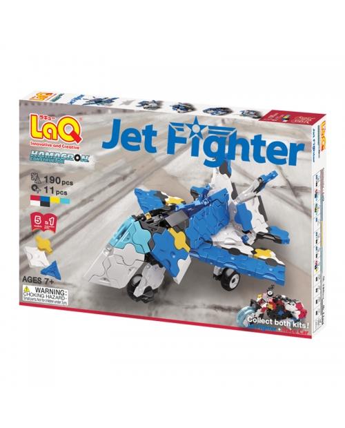"Konstruktorių rinkinys LaQ Hamacron ""Jet Fighter"""