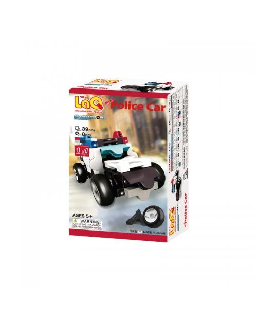 "Konstruktorių rinkinys LaQ ""Hamacron Constructor Mini Police Car"""