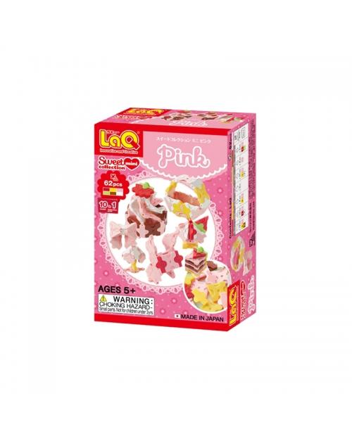"Konstruktorių rinkinys LaQ ""Sweet Collection Mini Pink"""