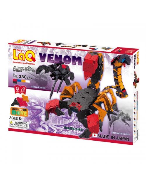 "Konstruktorių rinkinys LaQ ""Animal World Venom"""