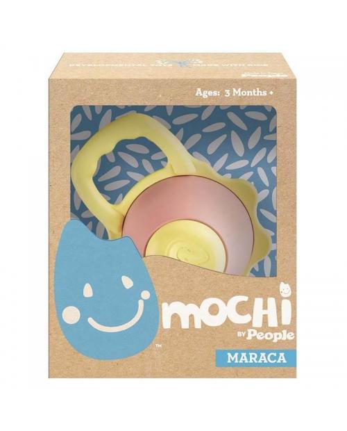 """""""Mochi Maraca"""" kramtukas – barškutis iš natūralių ryžių"""